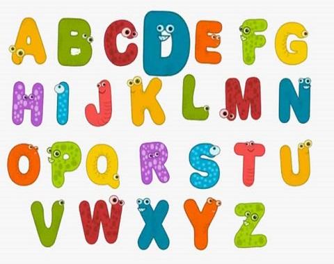 همخوانی حروف الفبا انگلیسی توسط دانش آموزان پایه هفتم
